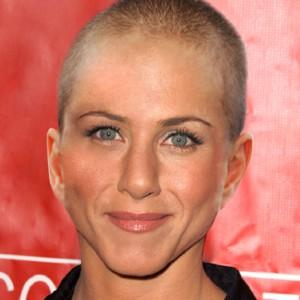 Jennifer anniston shaved