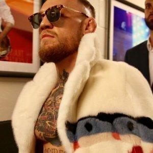 e59678d4ede40 What Conor McGregor s Flamboyant Gucci Mink Coat Actually Cost - ZergNet