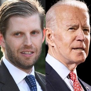 Eric Trump's Tweet About Joe Biden Is Really Raising Eyebrows